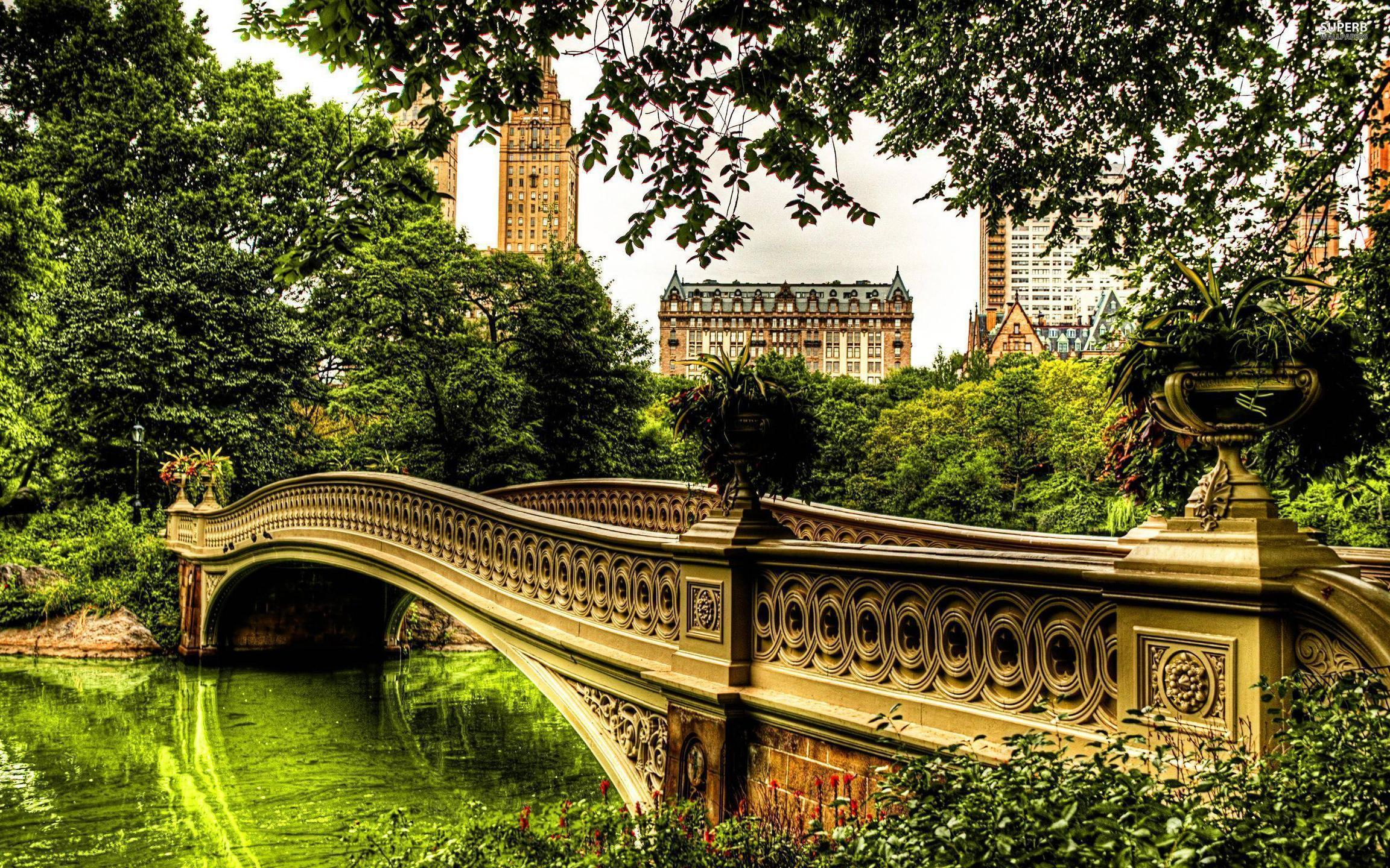 Px Bow Bridge Central Park Wallpapers 1024x768 px Free Download