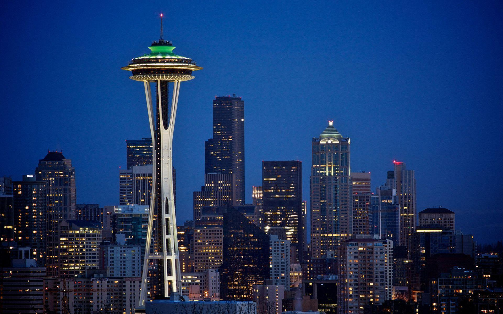Space Needle Wallpapers Wallpaper Cave