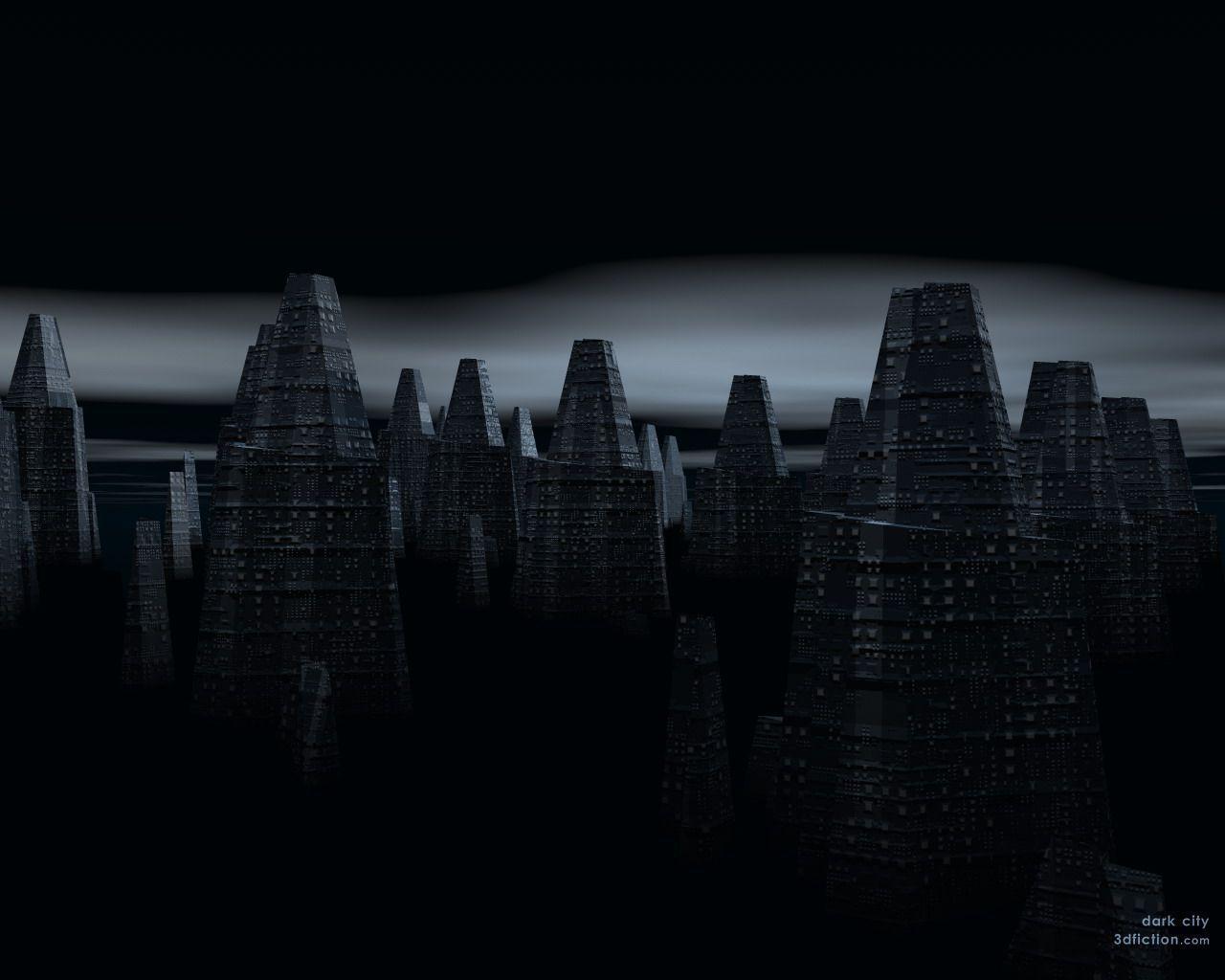 Dark City Backgrounds Wallpaper Cave