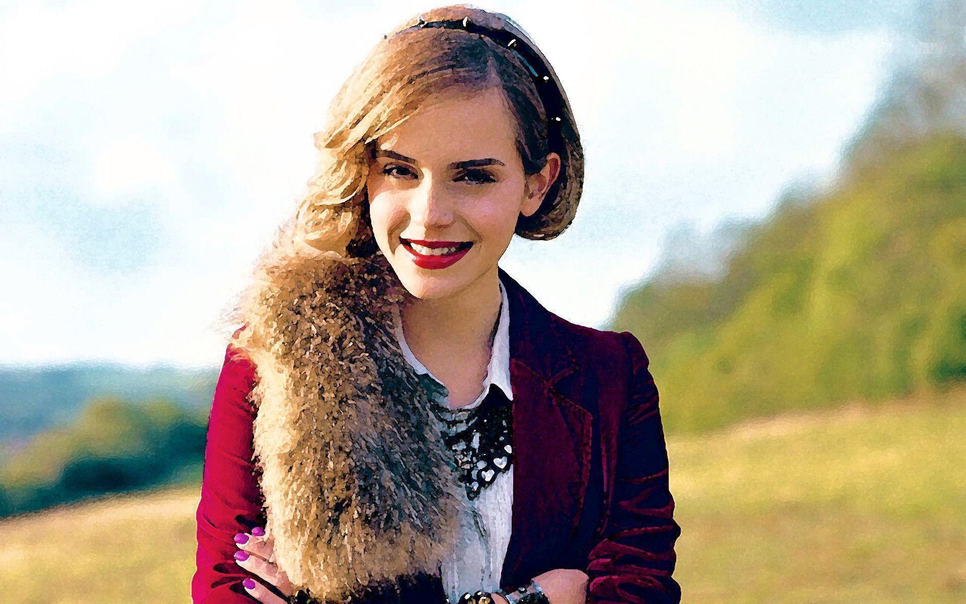 Emma Watson Portrait Wallpapers - Emma Watson Wallpaper (14832088 ...