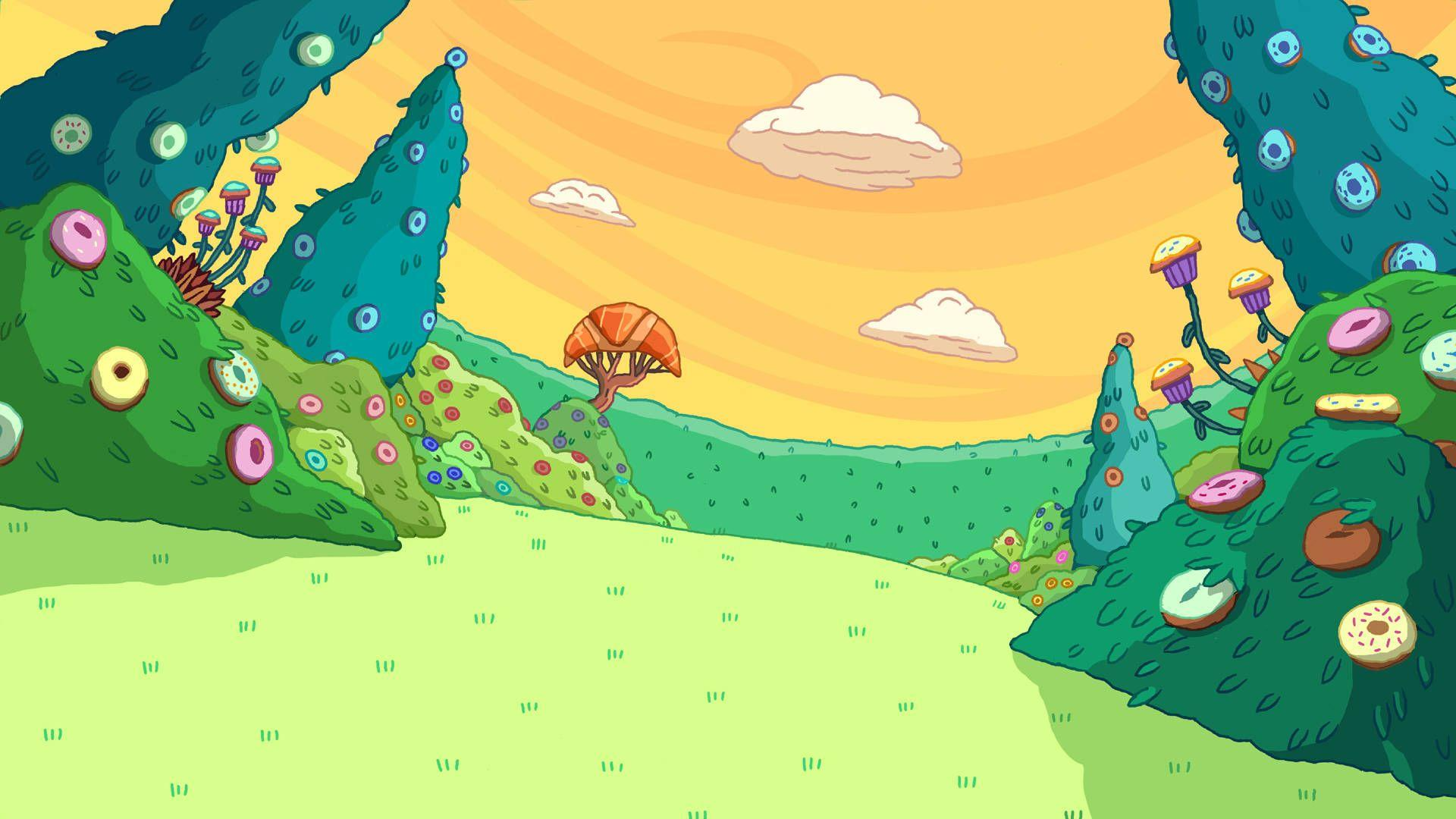 Adventure Time Backgrounds - Wallpaper Cave