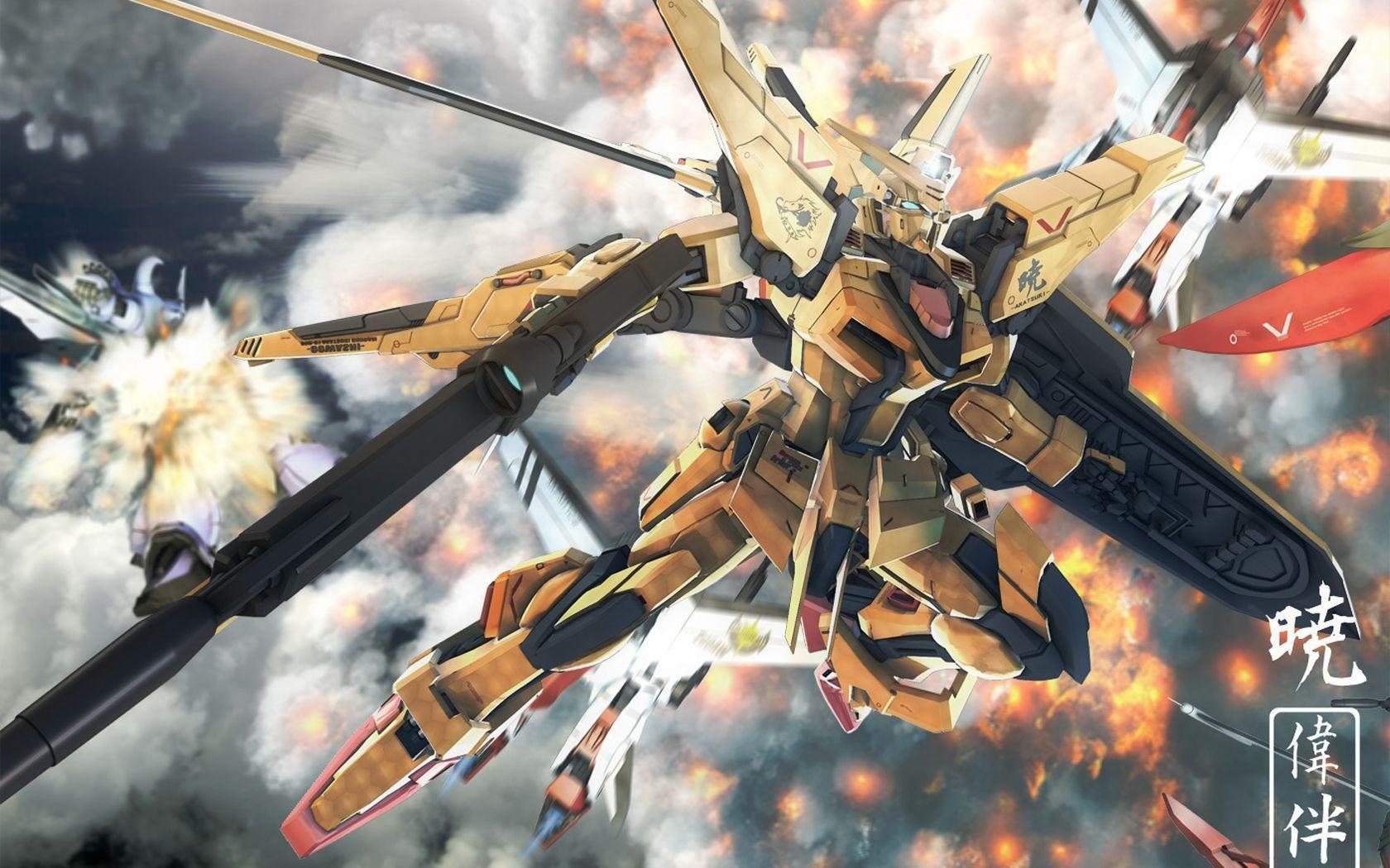 Wallpapers For > Gundam Seed Wallpaper