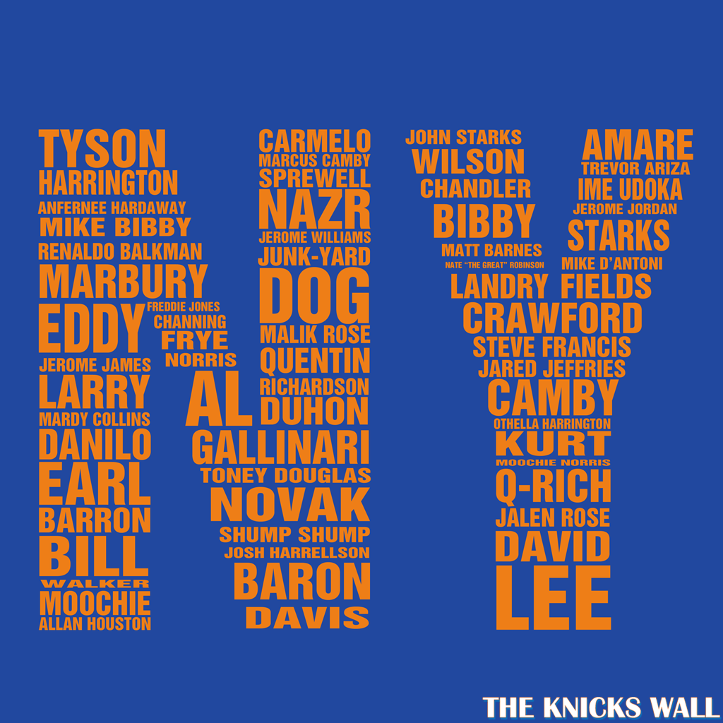 Knicks Names Wallpapers