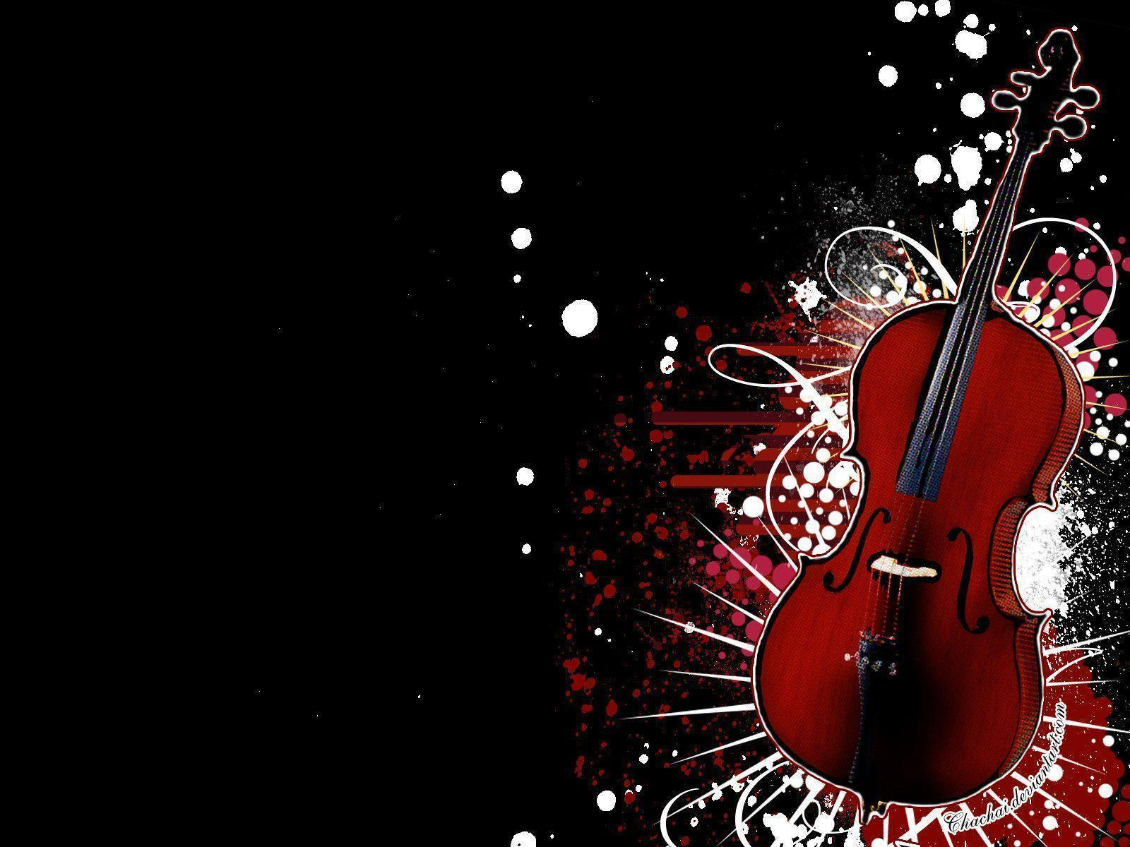 cool 3d wallpaper violin - photo #17