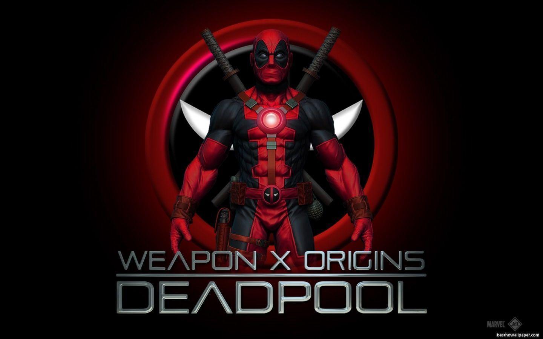 Deadpool Wallpapers Hd 1440x900 | WallpaperToon