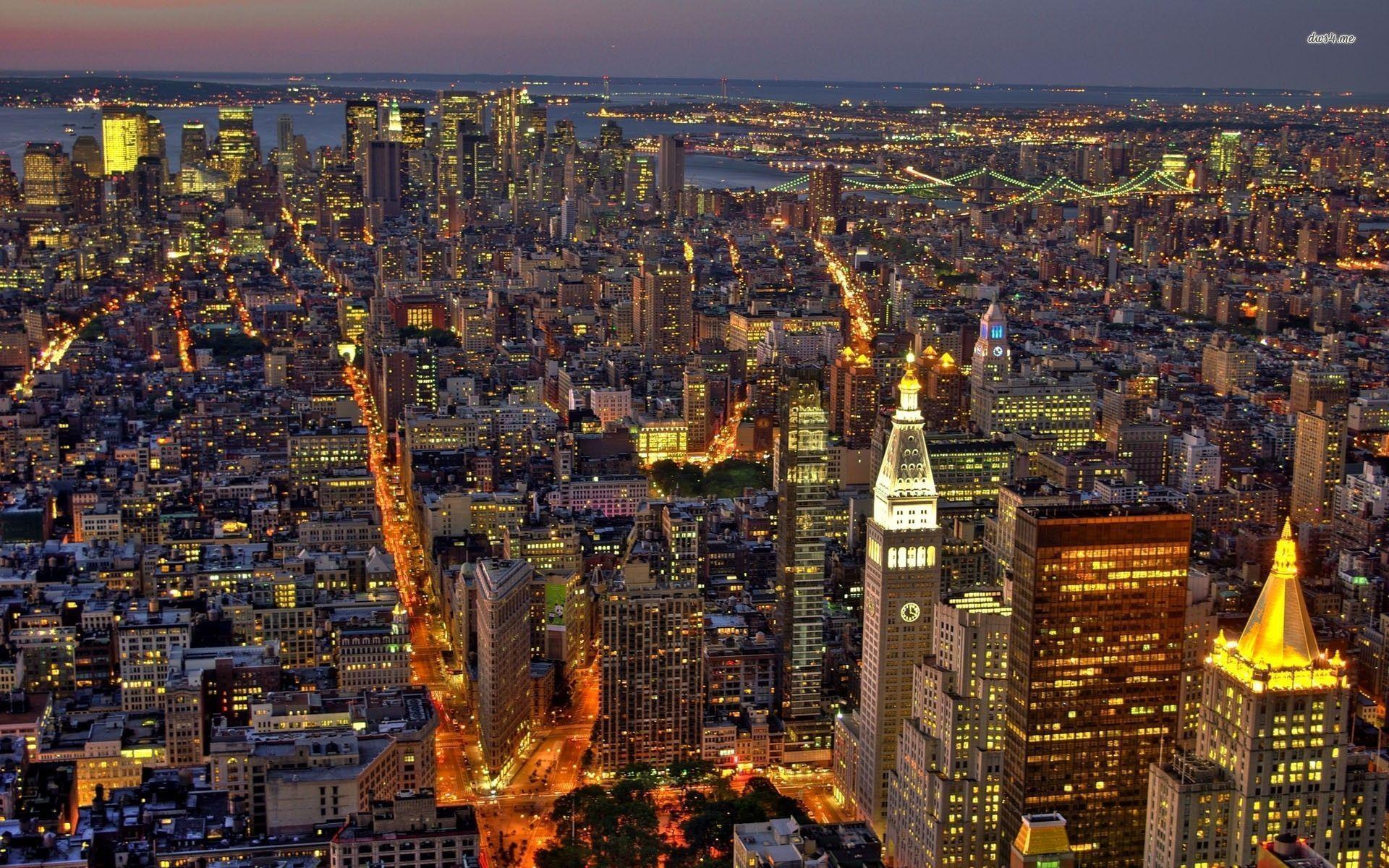 new york at night - photo #18