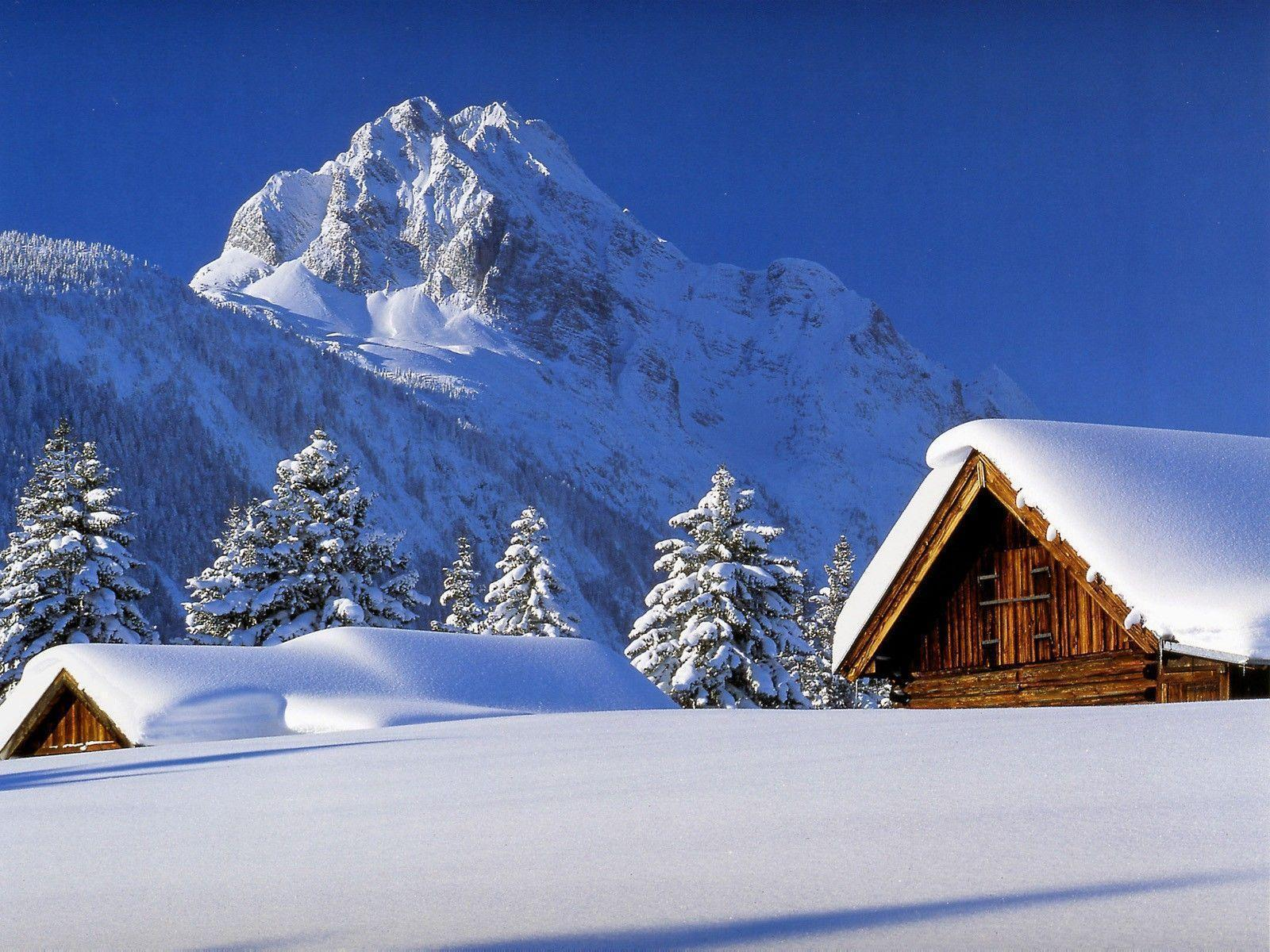 Winter cabin wallpapers wallpaper cave