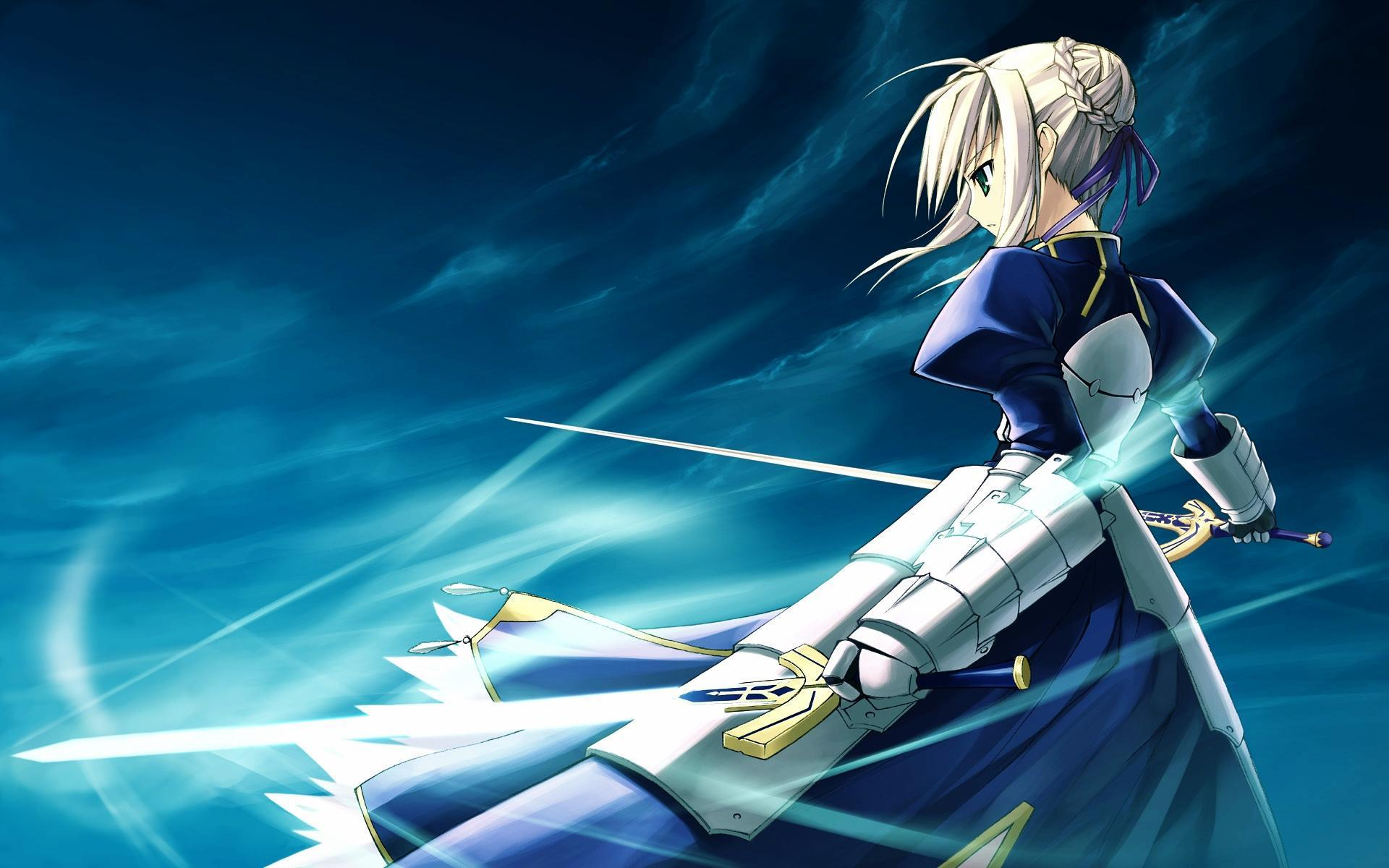 anime blue saber ndash - photo #15