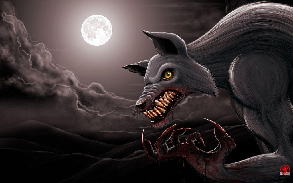 werewolf wallpapers wallpaper cave