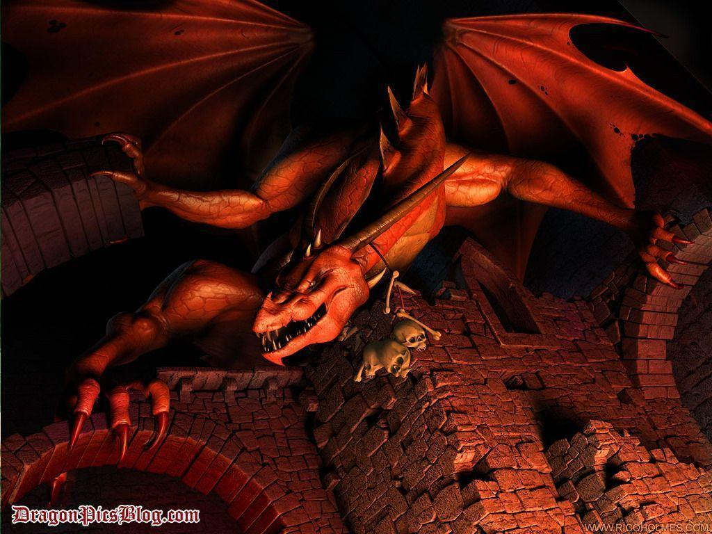 Red Dragon Wallpapers Wallpaper Cave