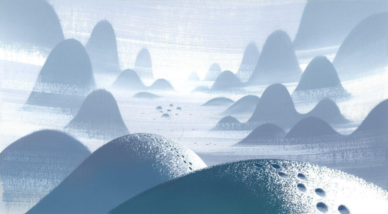 cartoon network animation backgrounds 2D Samurai Jack Scott Wills ...