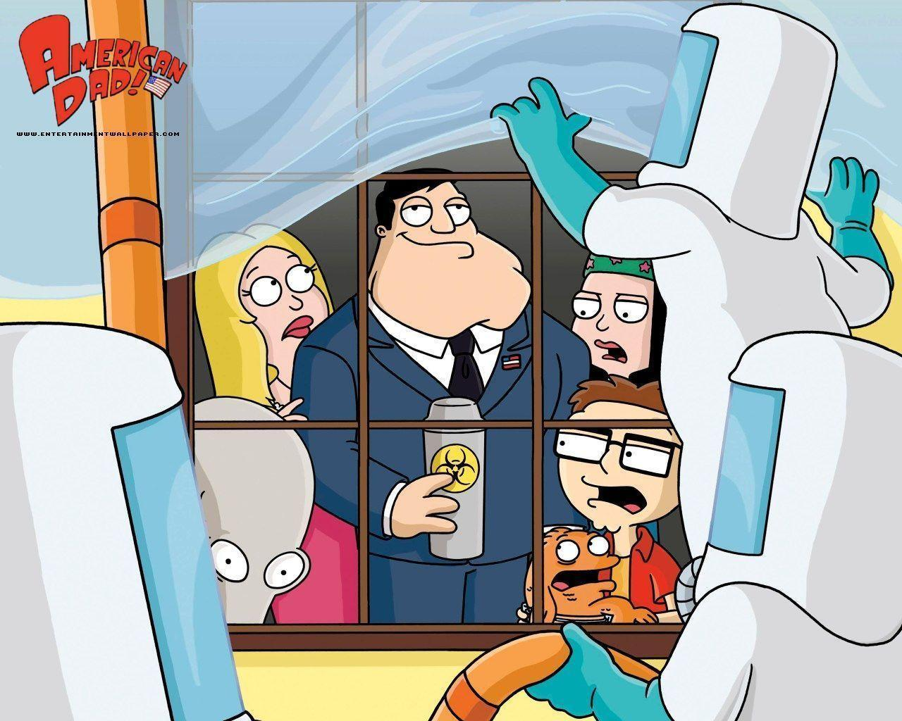 American Dad Wallpaper 39935 in Movies - Telusers.