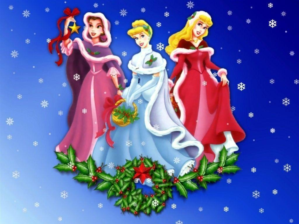 disney priness christmas disney princess christmas wallpaper