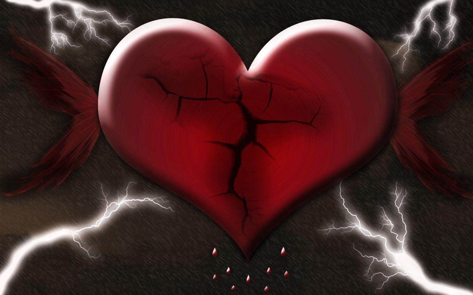 Broken Heart Hd Wallpaper Free Download 4359