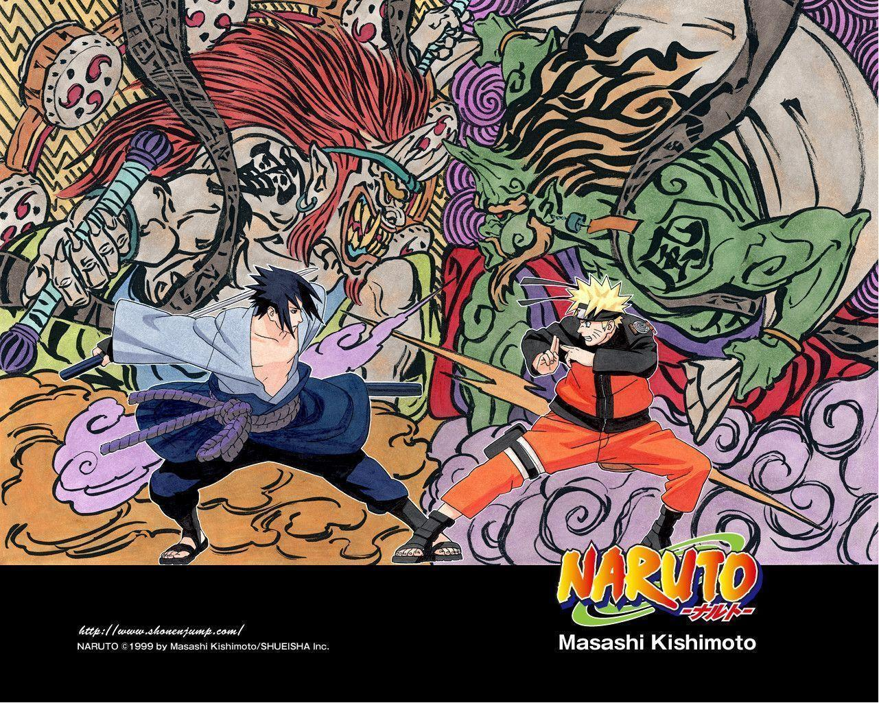 Pix For > Naruto Vs Sasuke Wallpapers