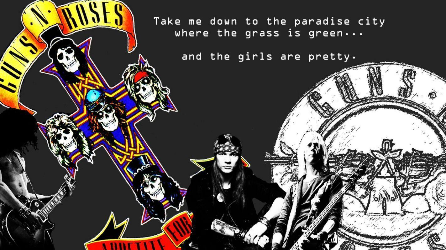 Guns And Roses Wallpapers