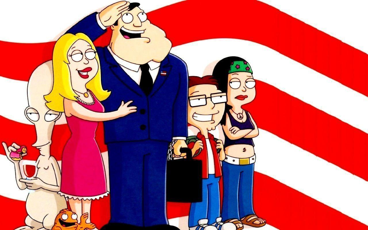 American Dad Flag Wallpapers 39944 in Movies