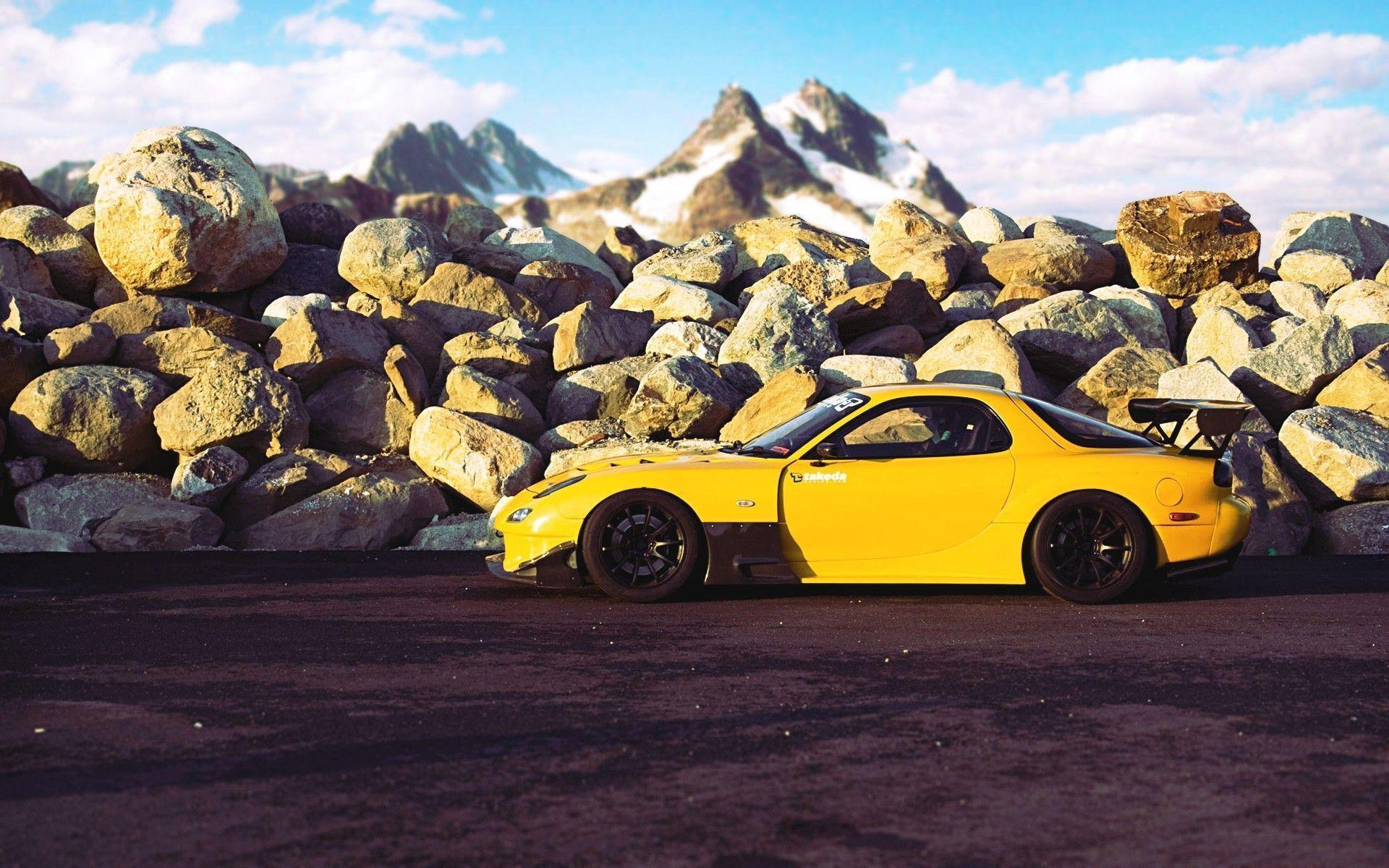 Wallpapers Auto, Cars, Mazda Rx7, White, Tuning, Tuning Cars .