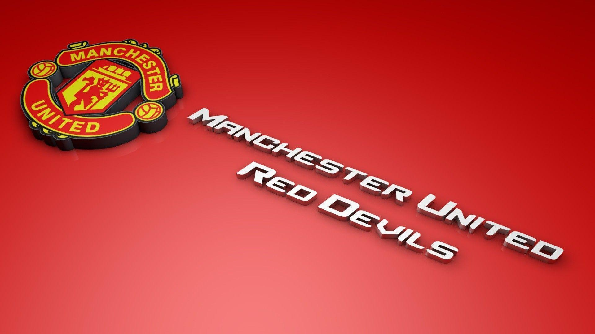 Manchester united wallpapers hd wallpaper cave manchester united logo 3d wallpaper hd desktop 4634 voltagebd Images