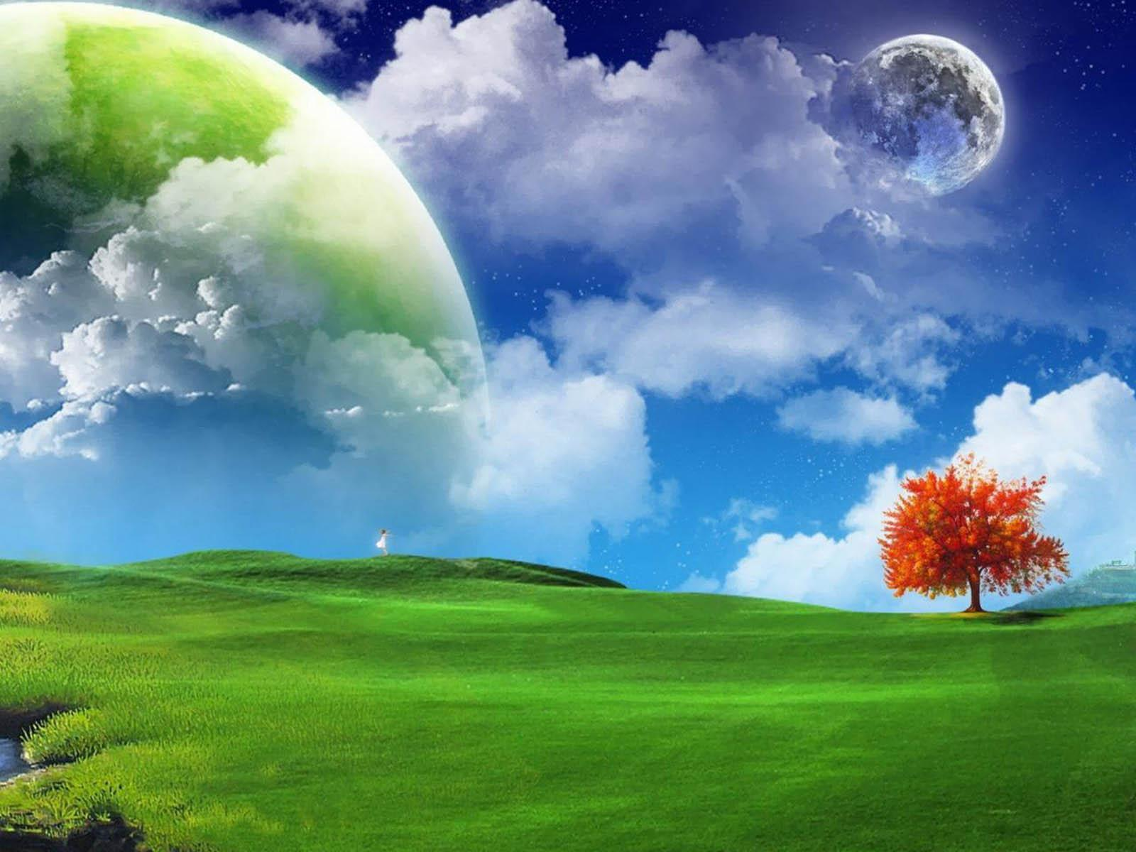 3D Nature Wallpaper Large Size Widescreen 2 HD Wallpapers ...