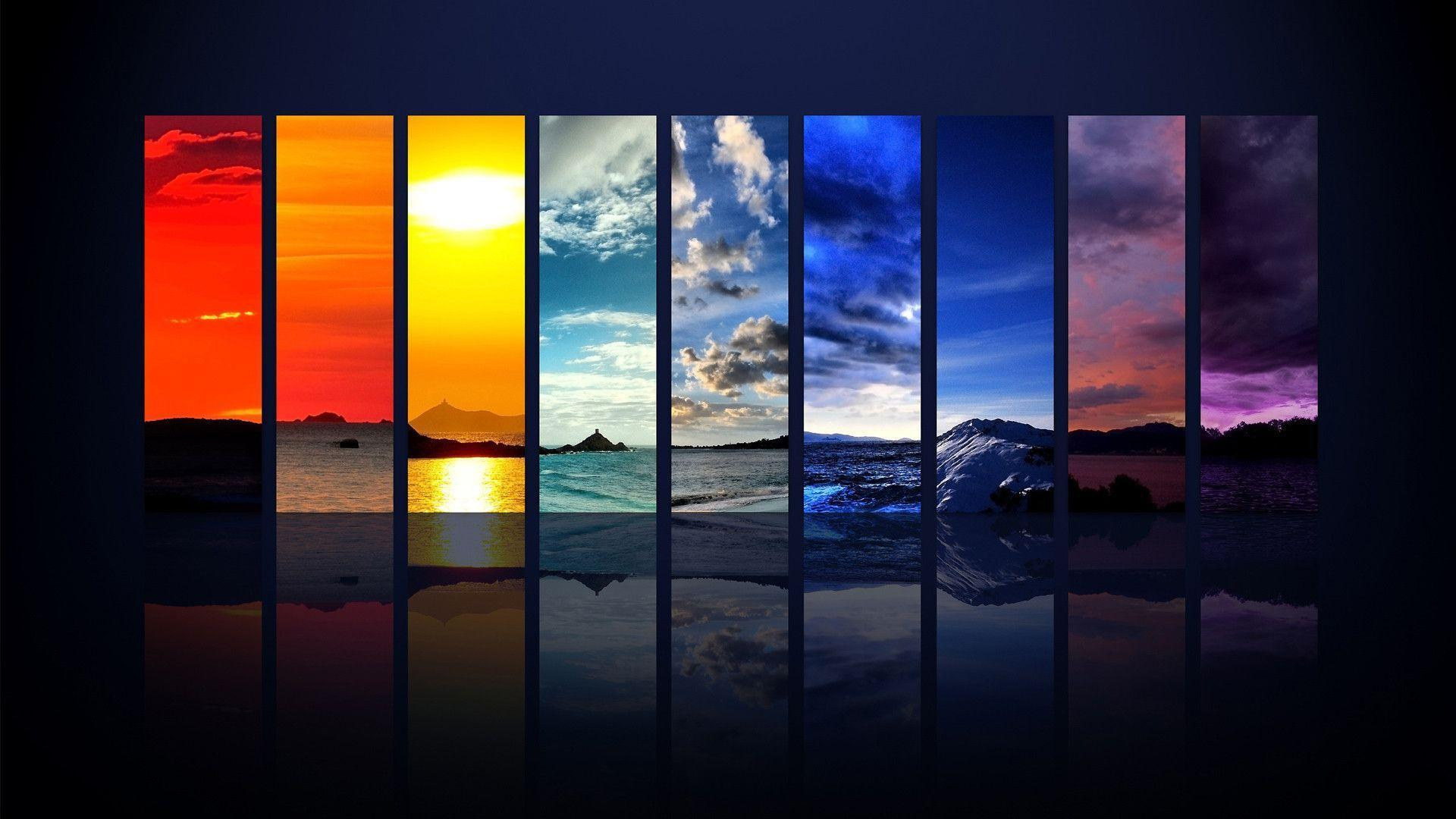 Spectrum of the Sky HDTV 1080p Wallpapers