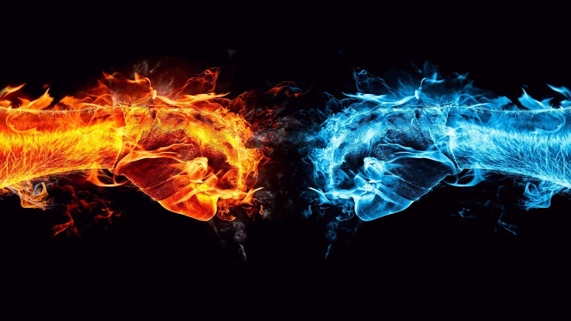 Fire And Ice Wallpapers HD 1080p