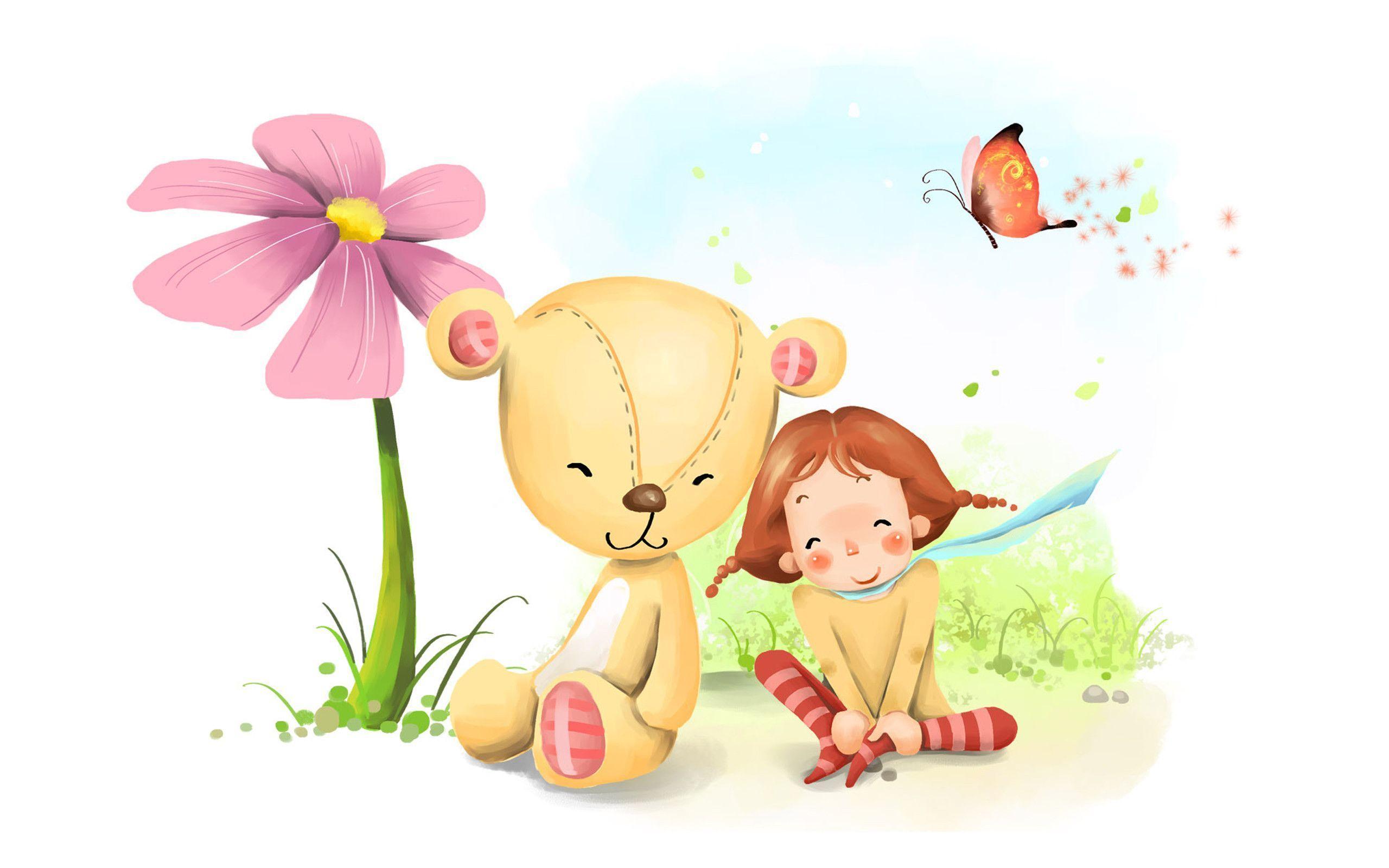 Unduh 53 Koleksi Wallpaper Animasi Teddy Bear HD Terbaik