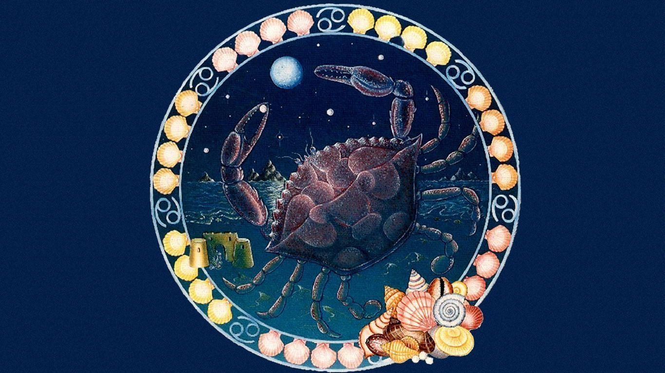 zodiac cancer wallpapers wallpaper cave