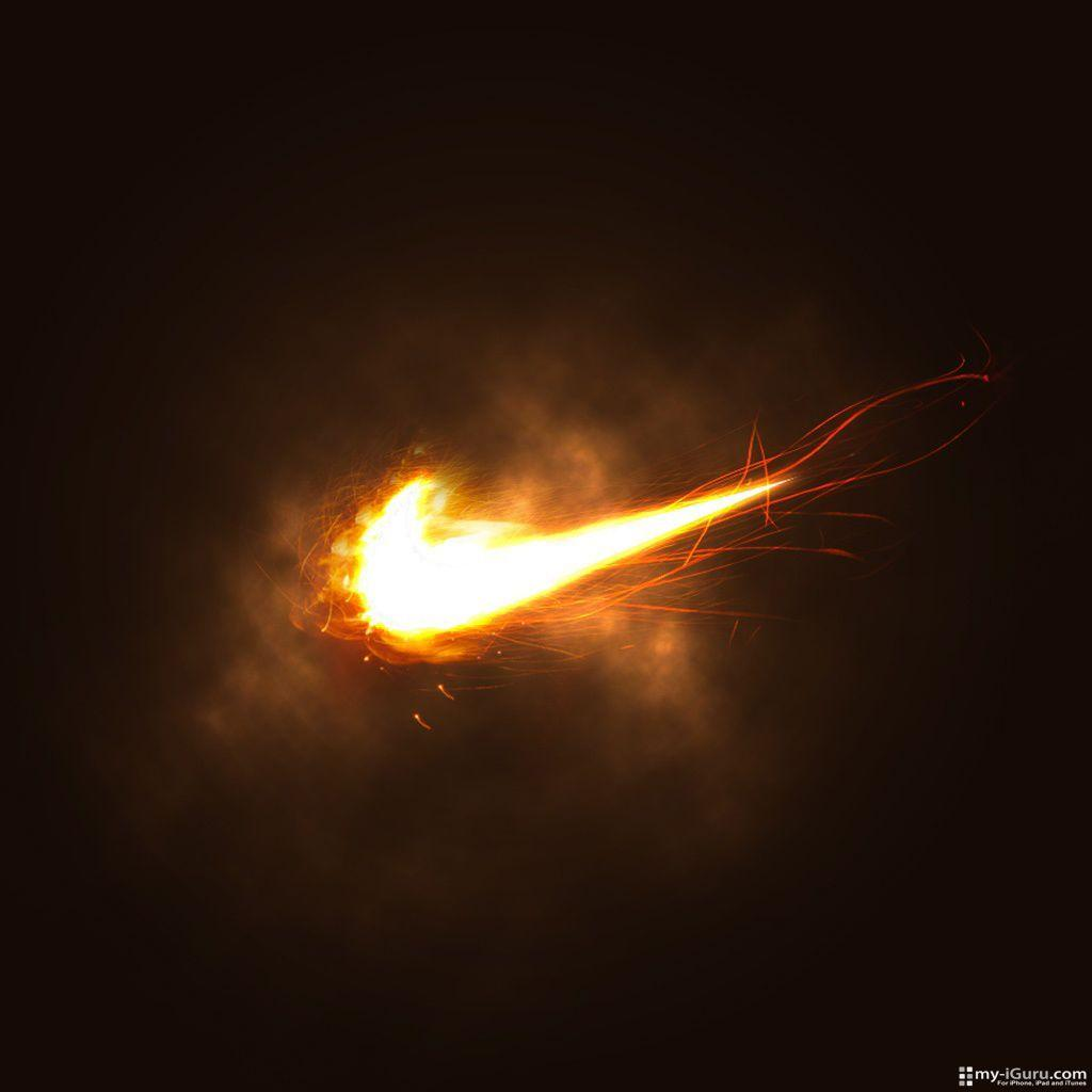 Image For > Nike Swoosh Wallpapers Green