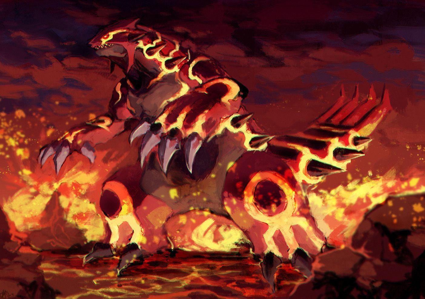 Groudon Wallpapers - Wallpaper Cave