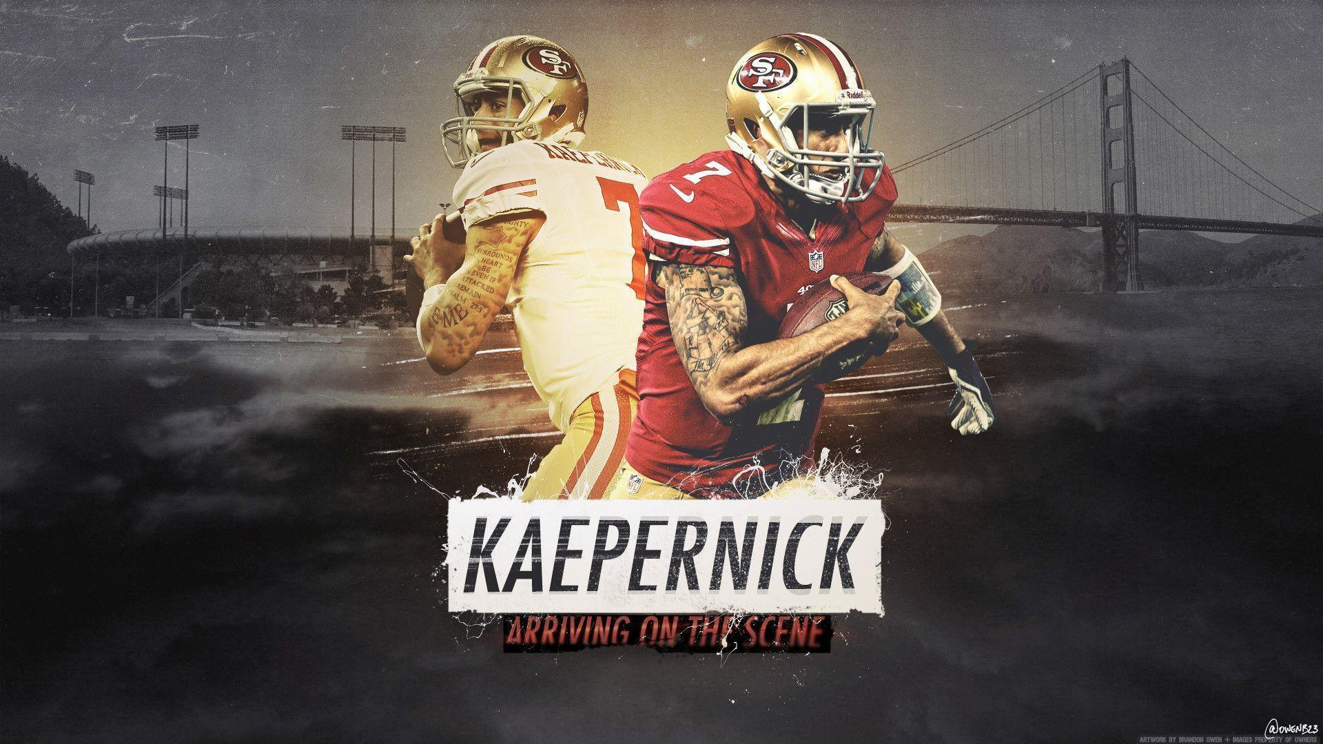 49ers Wallpaper Kaepernick
