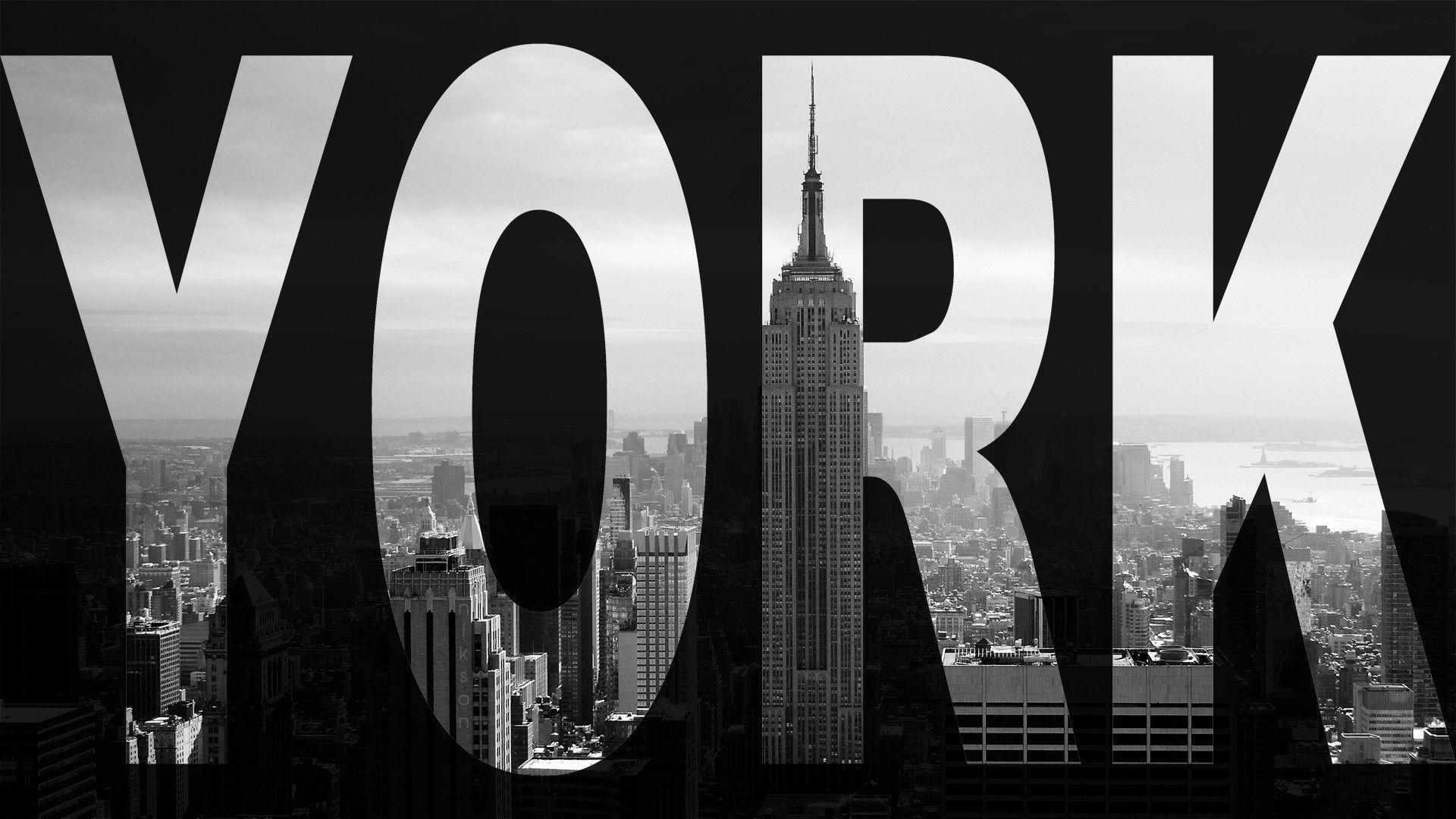 New york city wallpapers hd pictures wallpaper cave for Black and white new york mural wallpaper