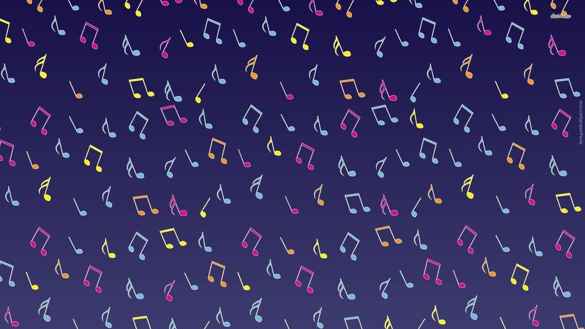 Wallpapers For > Purple Music Notes Wallpapers