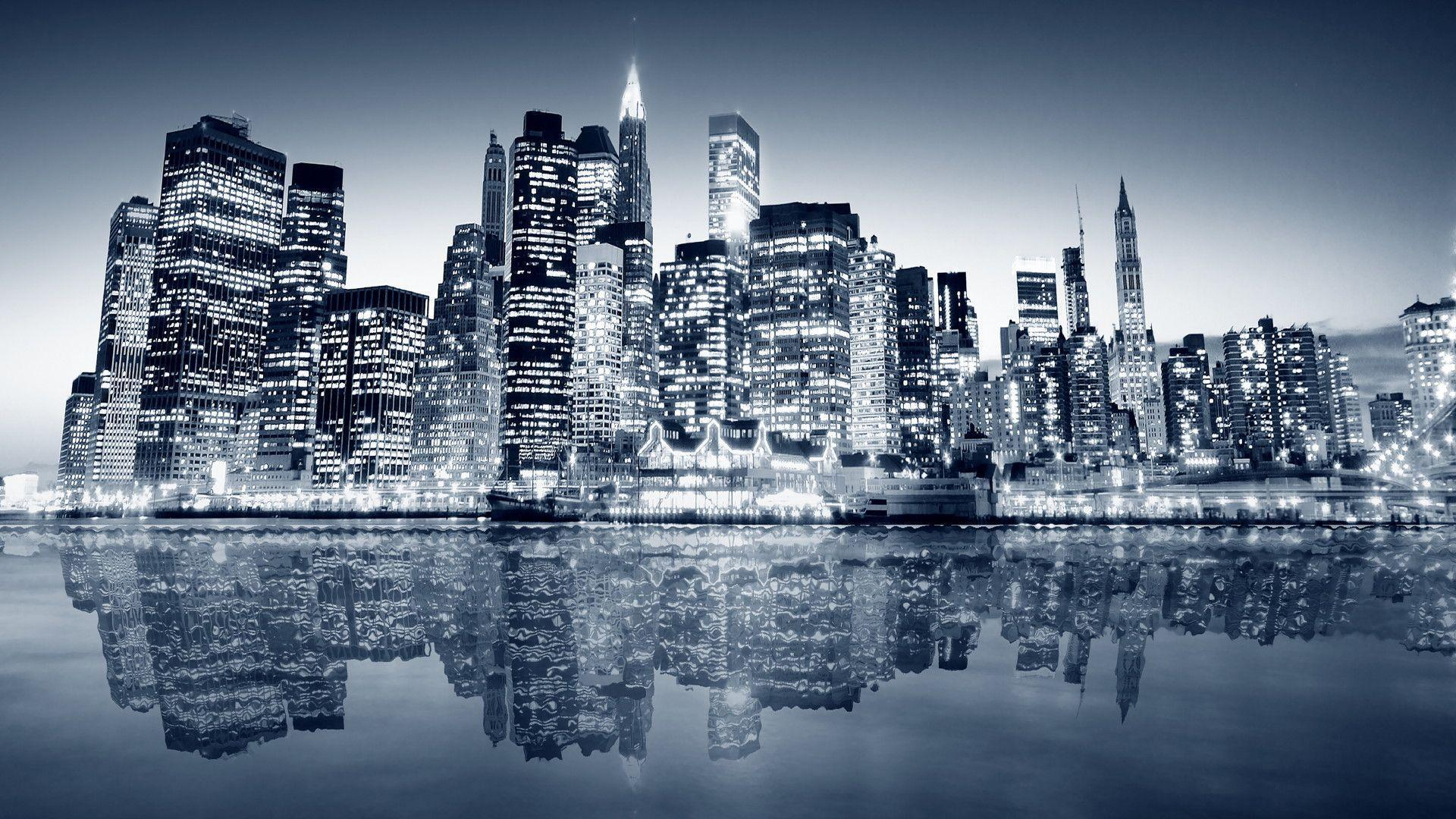 City Lights HD desktop wallpaper High Definition Fullscreen