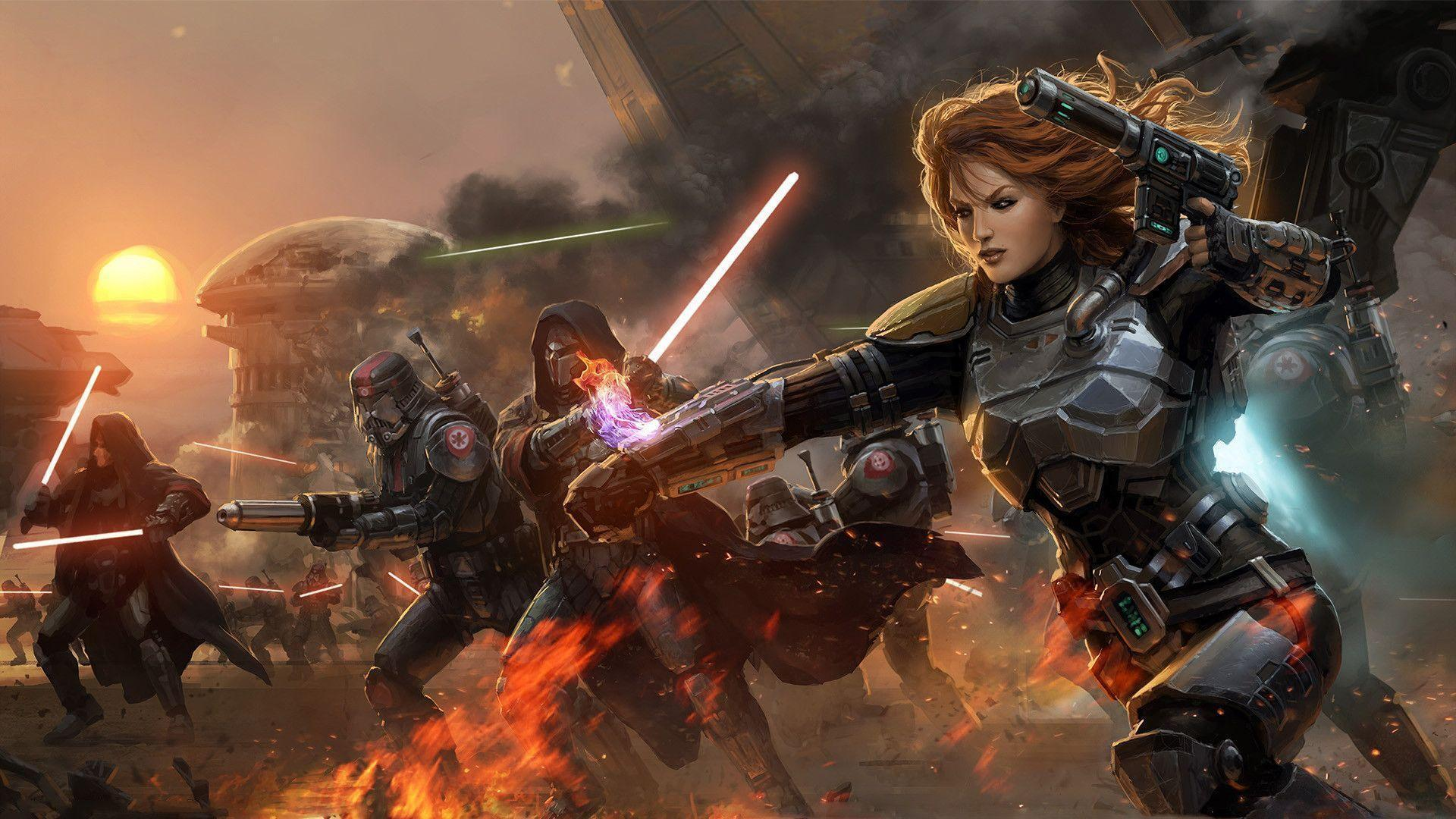 Star Wars The Old Republic Wallpapers 1920x1080 Wallpaper Cave
