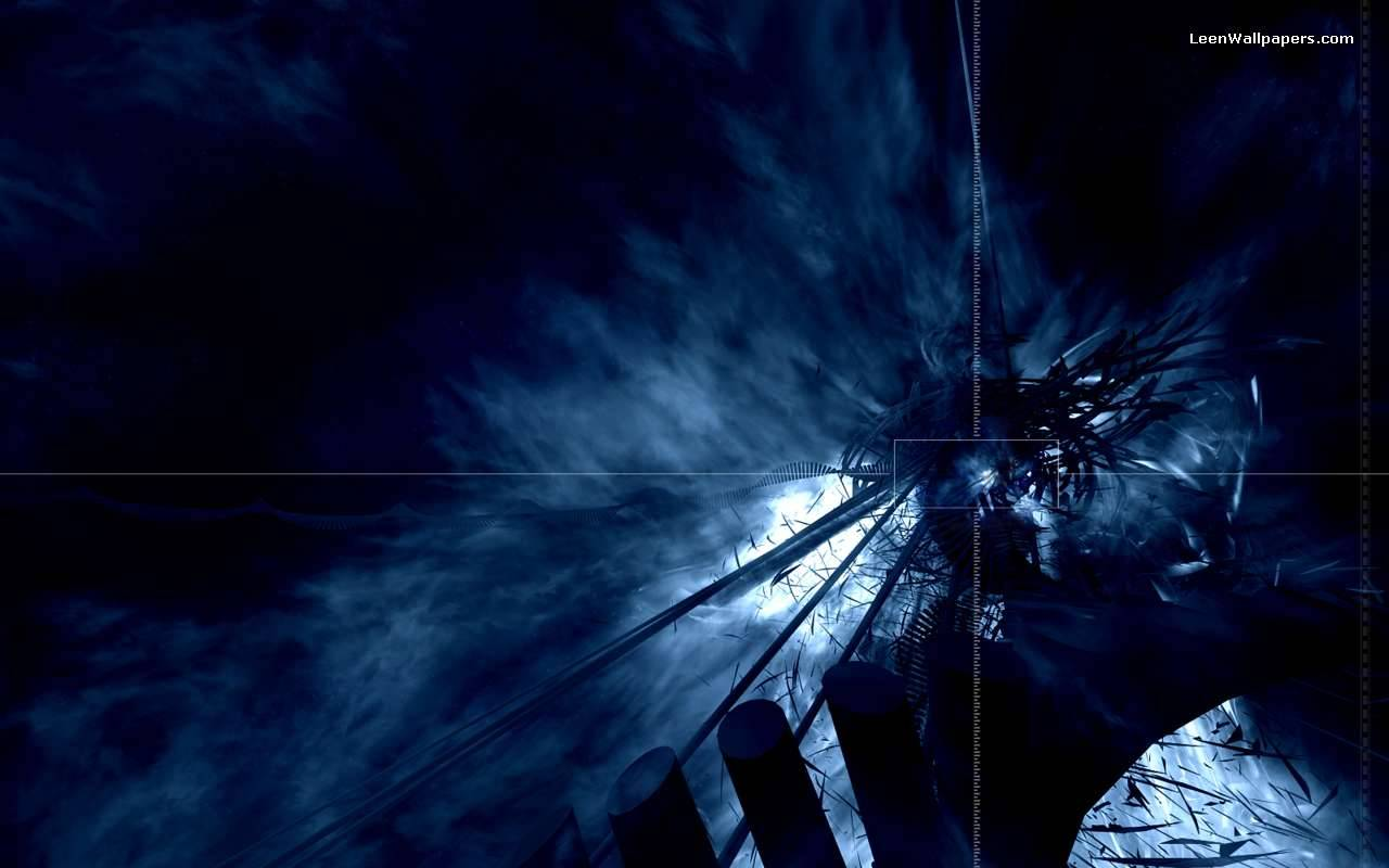 Dark Blue Abstract Wallpapers