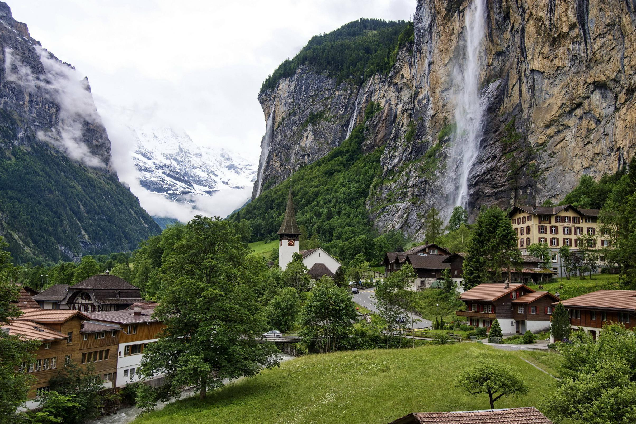 Switzerland Lauterbrunnen Computer Wallpapers, Desktop Backgrounds ...