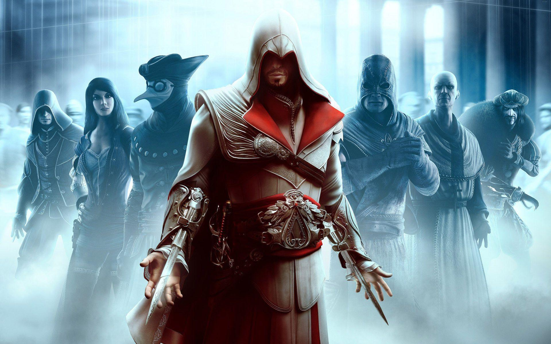 assassin's creed: brotherhood wallpapers - wallpaper cave