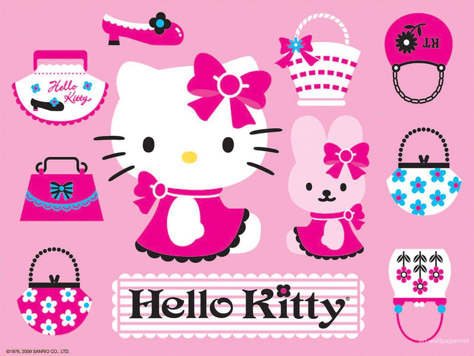 Hello kitty wallpapers and screensavers wallpaper cave - Wallpaper hello kitty full hd ...