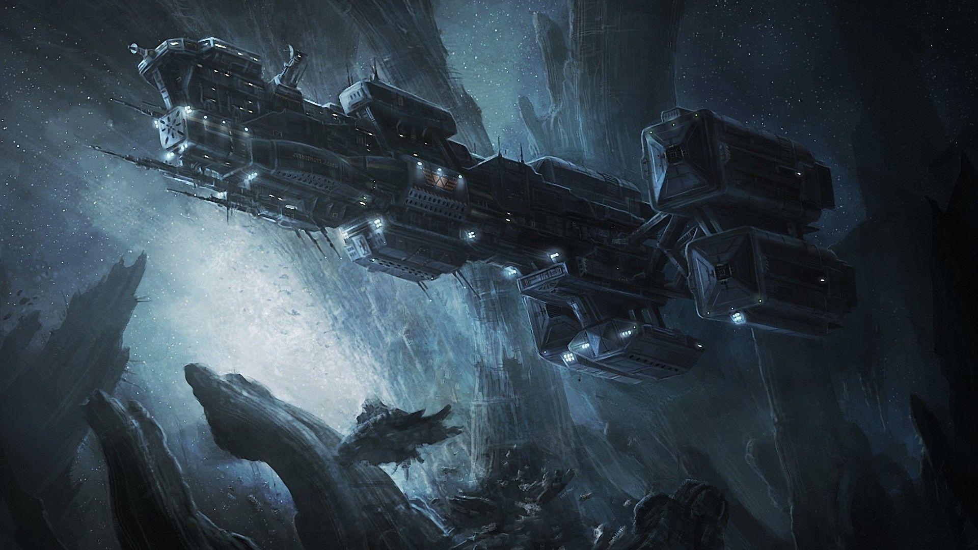 Prometheus spaceship Wallpaper #
