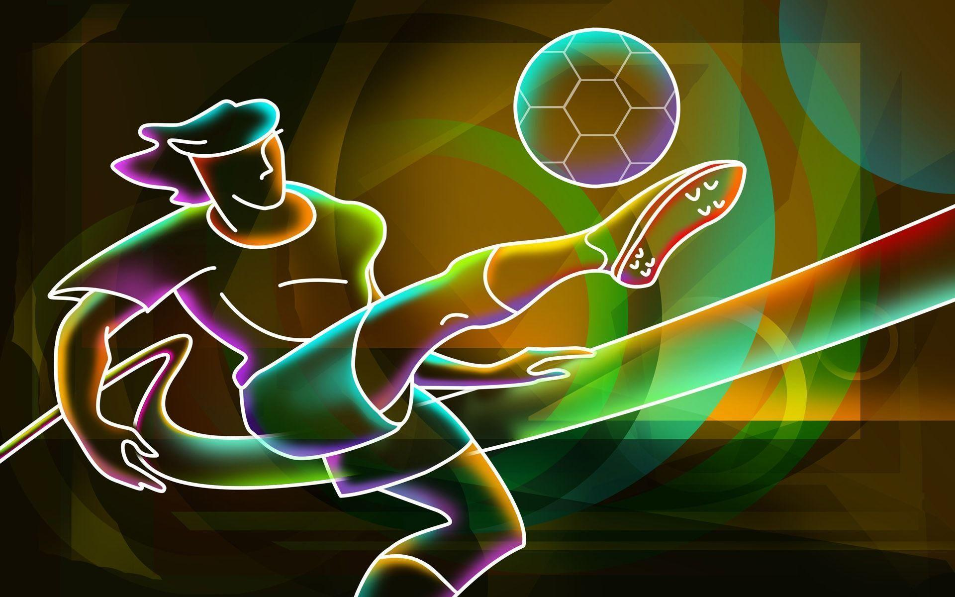 abstract colorful soccer wallpapers