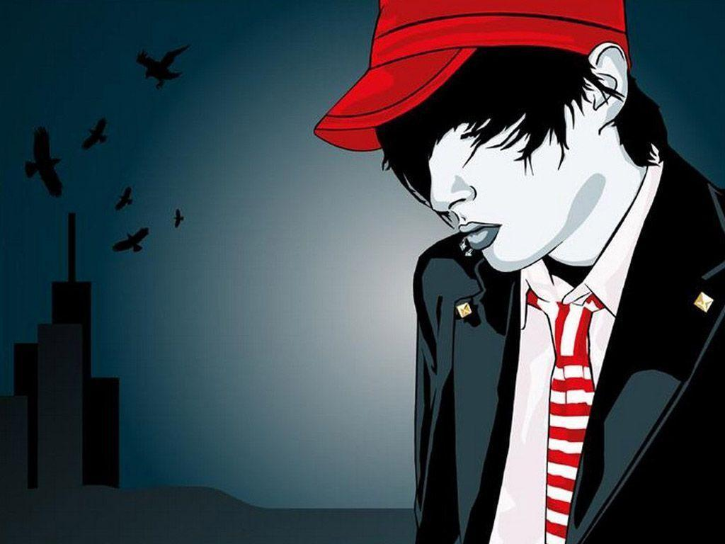 Emo Boys Wallpapers Wallpaper Cave
