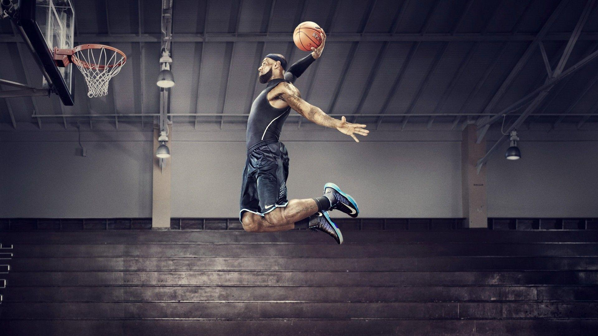 Lebron James Dunk 2014 Wallpapers Wide or HD