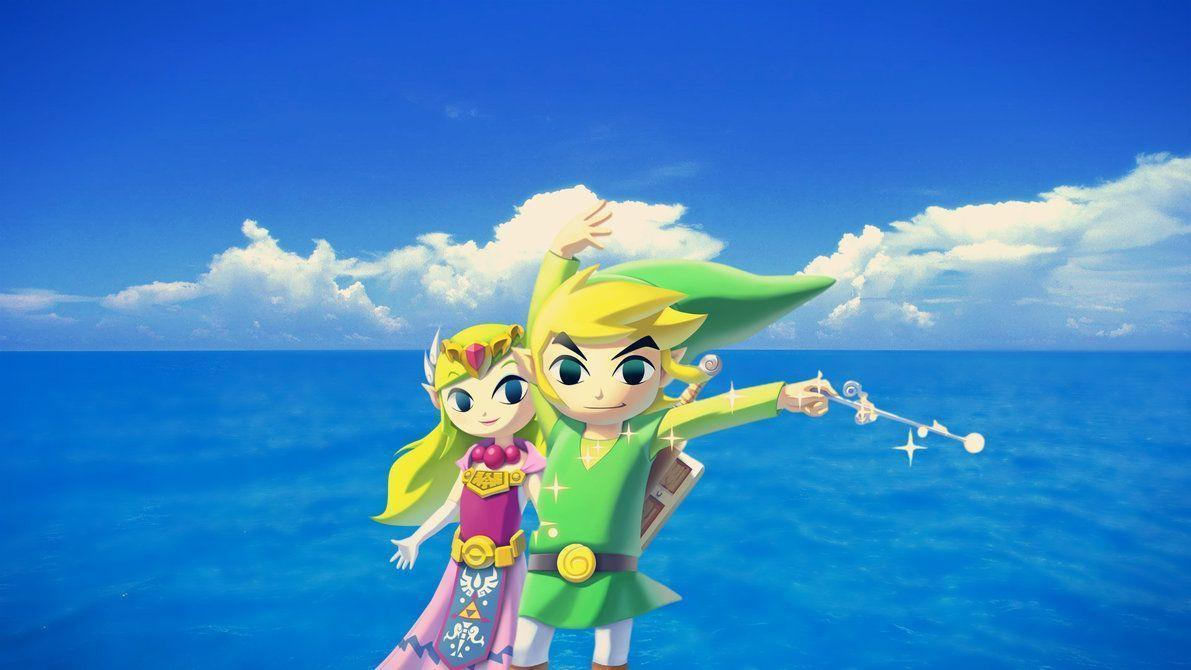 Wind Waker HD Link and Zelda Wallpapers by Nolan989890