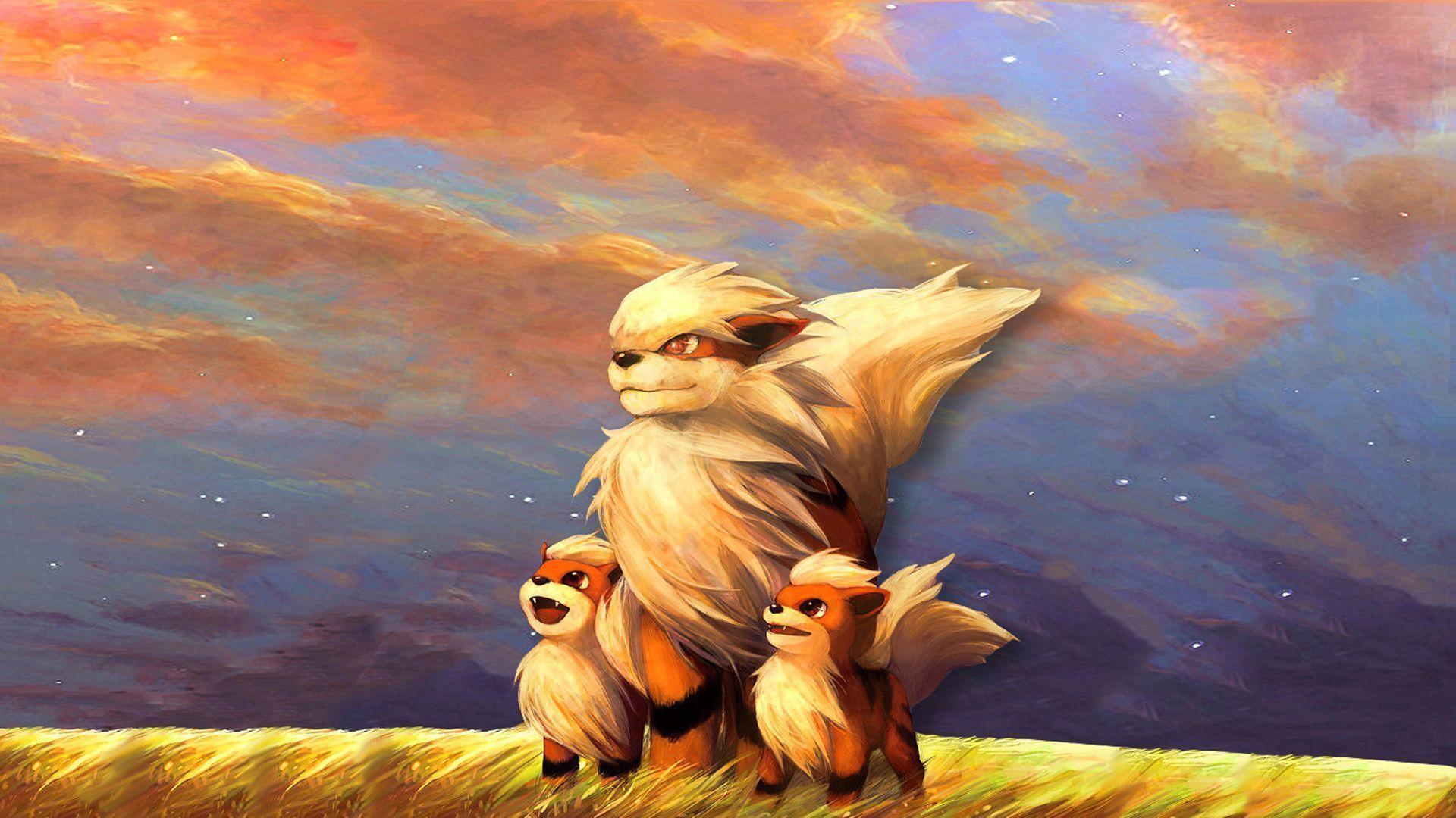 growlithe wallpaper - photo #2