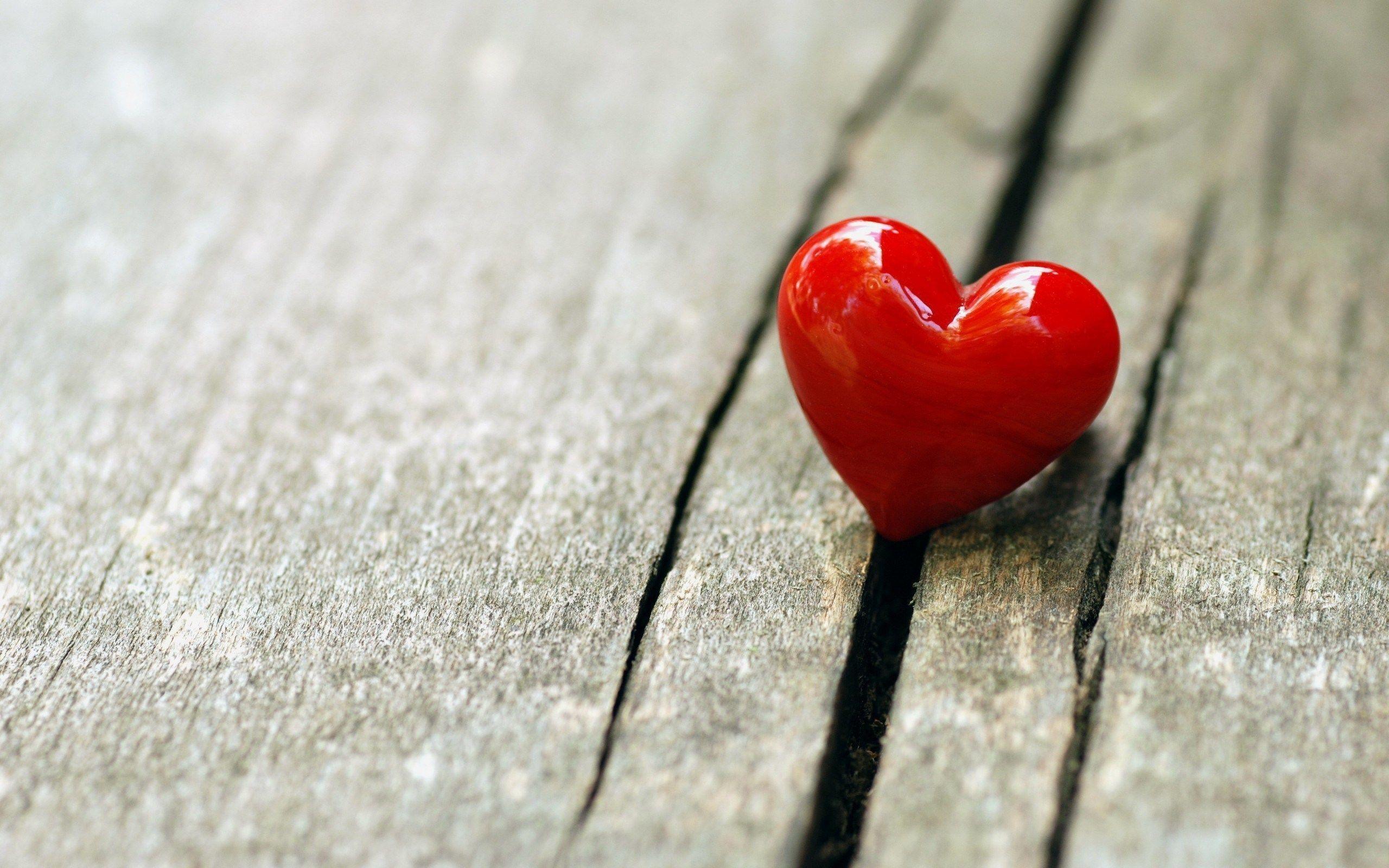 Red Heart Love HD Wallpaper Desktop Backgrounds Free