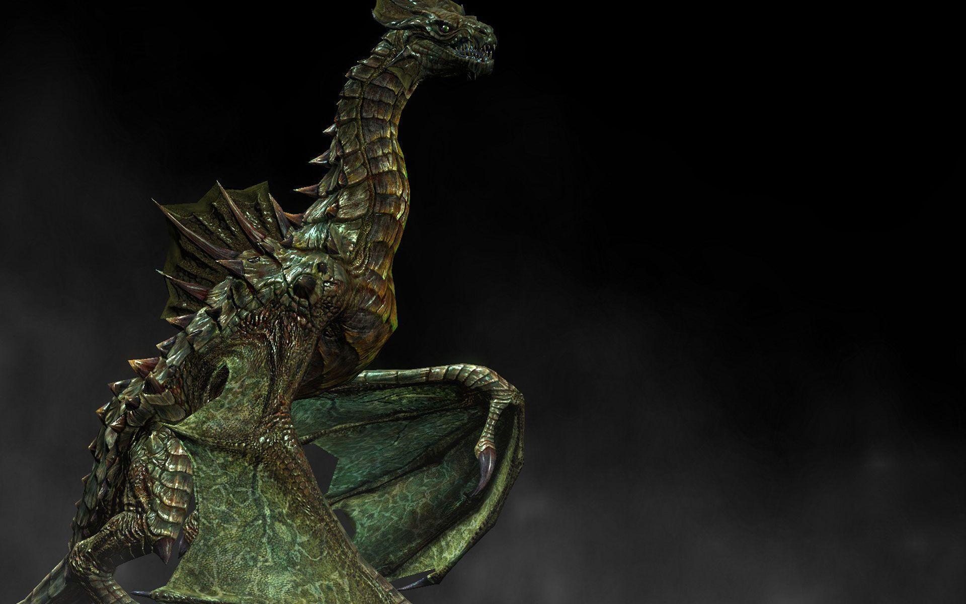 Skyrim Swamp Dragon Of Wallpapers In HD, HQ Backgrounds