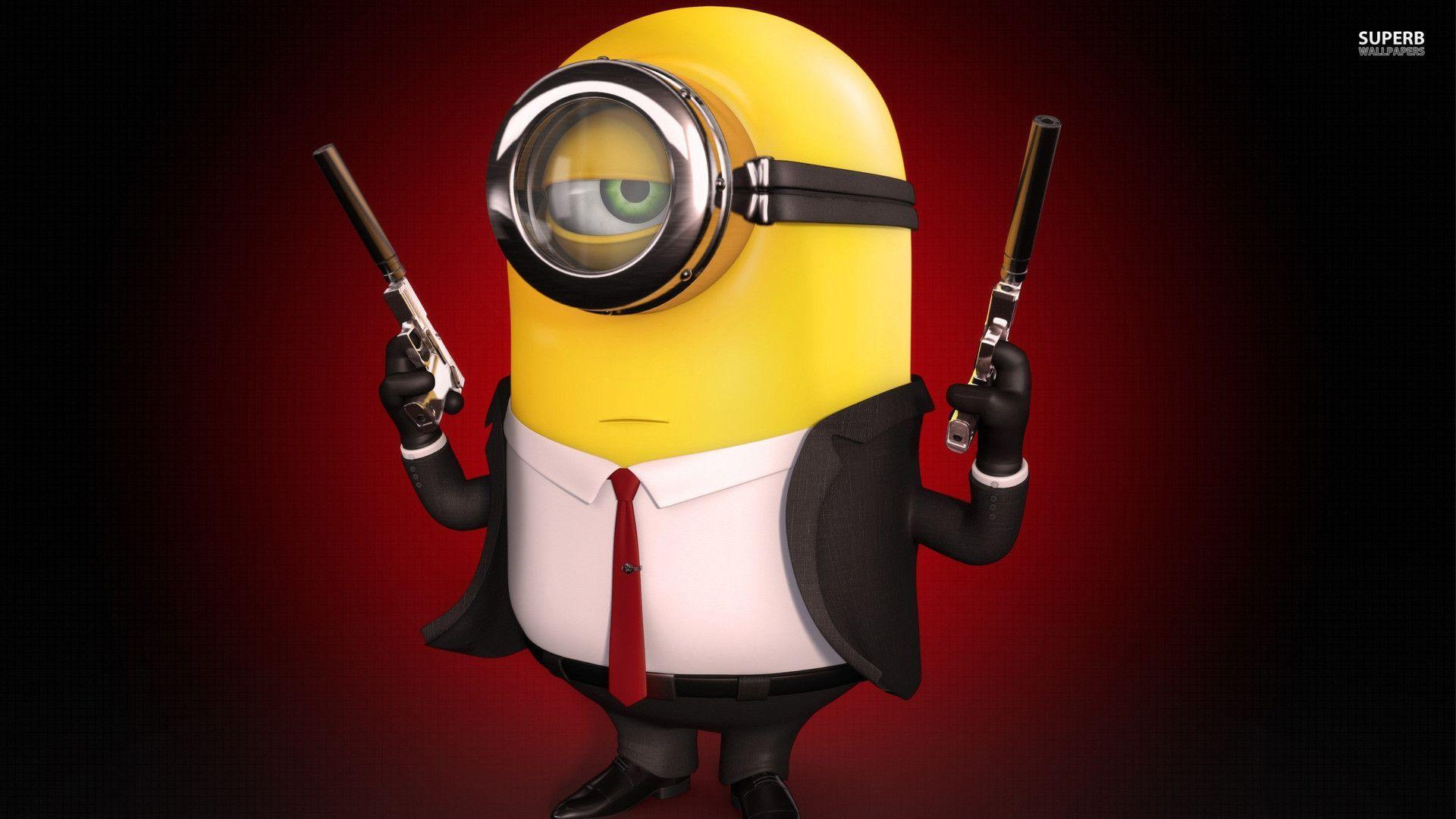 Hitman minion wallpaper - Digital Art wallpapers - #