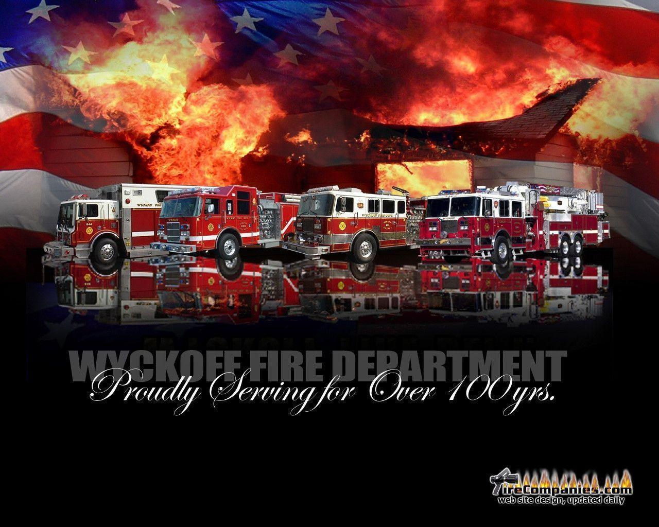Fire Truck Wallpapers - Wallpaper Cave