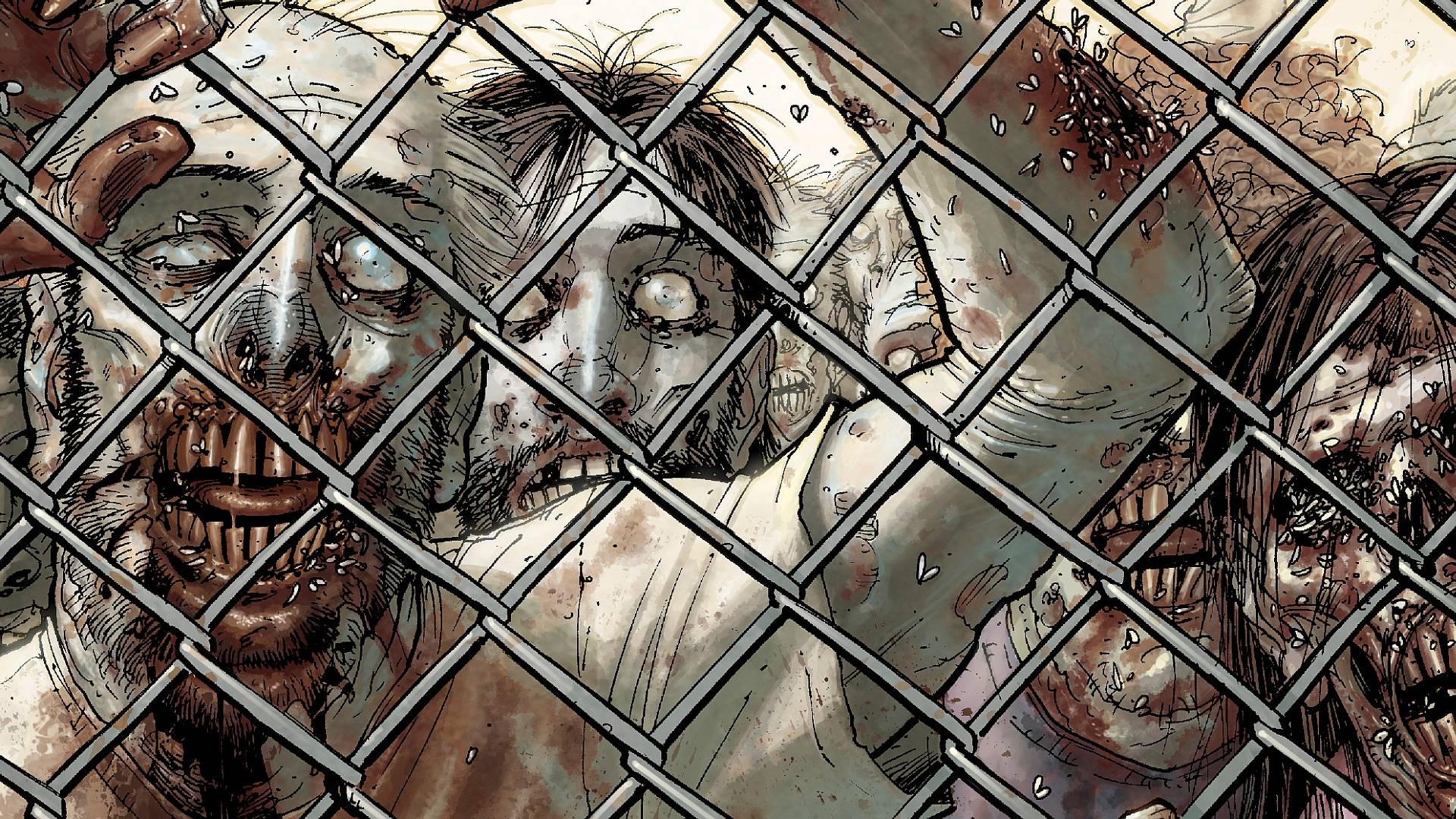 Walking Dead Comic Wallpapers - Wallpaper Cave